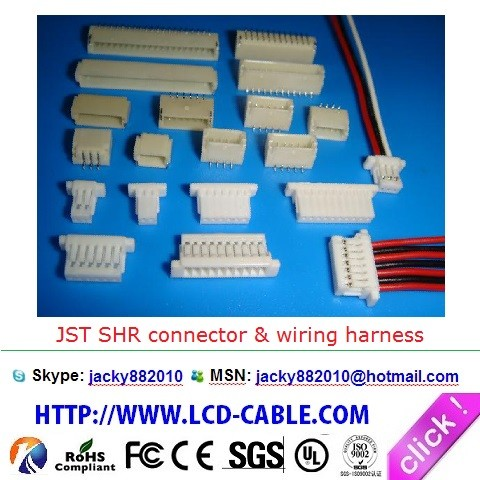 LCD CABLE LVDS IPEX CABLE JST XSR CABLE