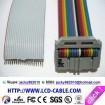 flex ribbon cable coaxial assemblies connector